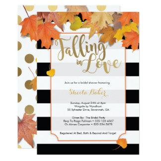 Fall Wedding Shower Invitation Fall Bridal Shower