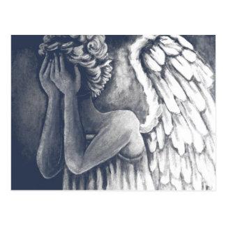 Fallen Angel Art Postcard