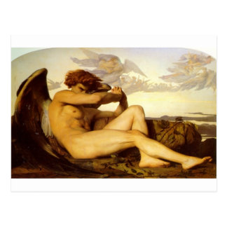Fallen Angel by Alexandre Cabanel Postcard