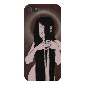 Fallen Angel - Demon Lady iPhone Case iPhone 5/5S Cases