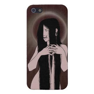 Fallen Angel - Demon Lady iPhone Case iPhone 5/5S Cases