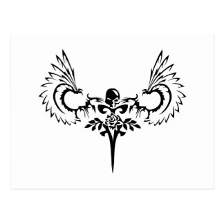 Fallen ANgel Design Studio Logo Post Cards