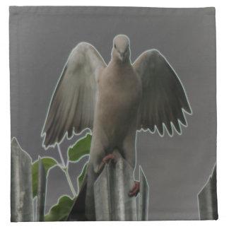 Fallen Angel Dove Napkin