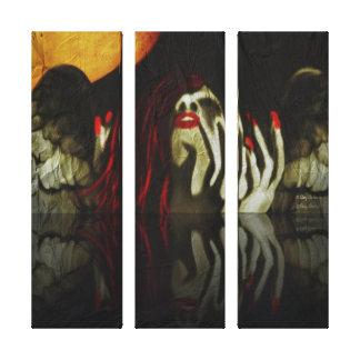Fallen Angel Gallery Wrapped Canvas