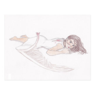 fallen angel postcards