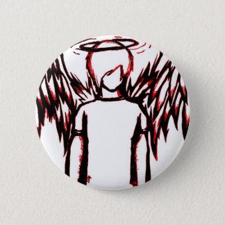 Fallen Angel red 6 Cm Round Badge