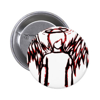 Fallen Angel red 6 Cm Round Badge