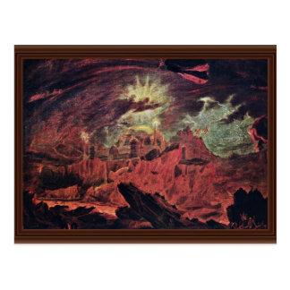 Fallen Angels In Hell The Fallen Angels In Hell Postcard