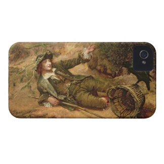 Fallen by the Wayside, 1886 (oil on canvas) iPhone 4 Cover
