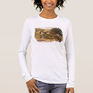 Fallen by the Wayside, 1886 (oil on canvas) Long Sleeve T-Shirt