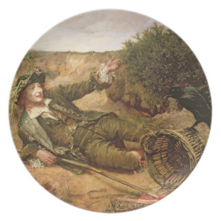 Fallen by the Wayside, 1886 (oil on canvas) Plate