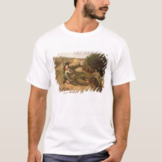 Fallen by the Wayside, 1886 (oil on canvas) T-Shirt