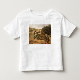Fallen by the Wayside, 1886 (oil on canvas) Toddler T-Shirt