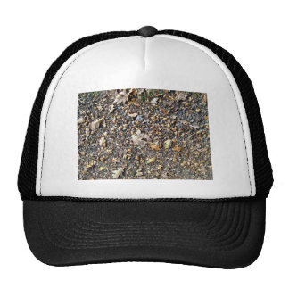 Fallen Dry Leaves and Fruits Trucker Hat