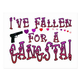 Fallen For Gangsta Postcard