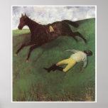Fallen Jockey, c. 1896-98, Edgar Degas Print
