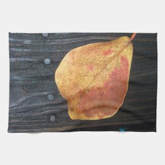 Fallen Leaf Tea Towel
