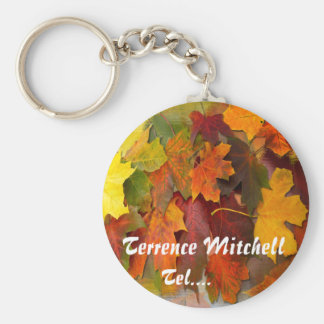 FALLEN LEAVES ~ Keychain