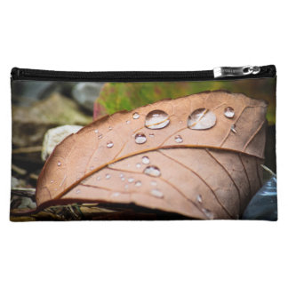 Fallen Leaves Makeup Bag