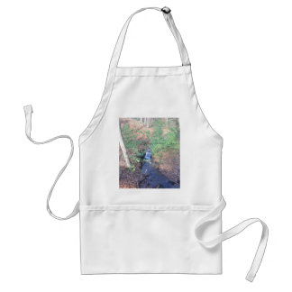 Fallen Leaves On The Forest Floor Aprons