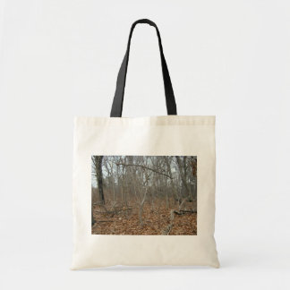 Fallen Leaves On The Forrest Floor Canvas Bags