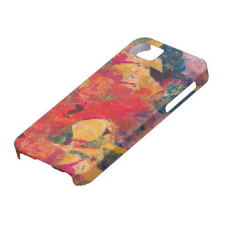 Fallen Leaves - Paper Collage Case For The iPhone 5