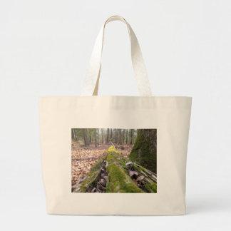 Fallen Log Canvas Bag