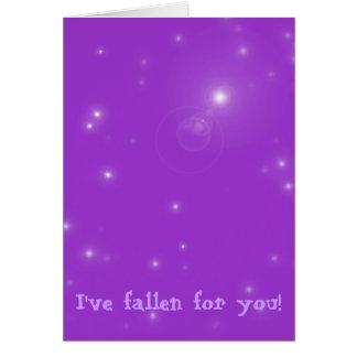 Fallen Note Card