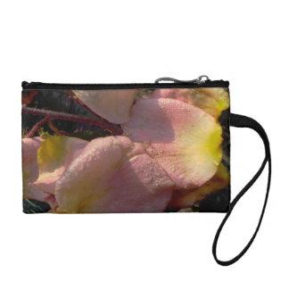 fallen petals coin purses
