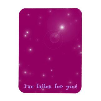 Fallen Rectangular Photo Magnet