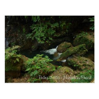 Fallen rock - Carolina/ME Postcard