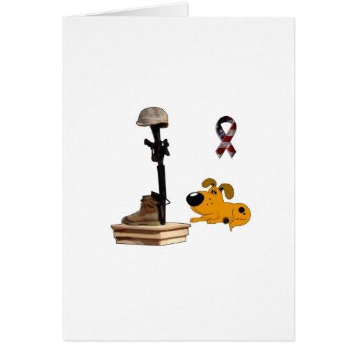 Fallen Soldier - Pumpkin Mourns Cards