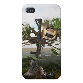 Fallen Soldier's Cross Case For iPhone 4