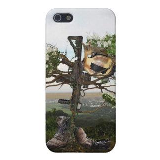 Fallen Soldier's Cross iPhone 5/5S Case