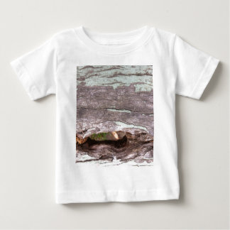 Fallen sun bleached tree with hollow point baby T-Shirt