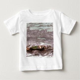 Fallen sun bleached tree with hollow point t-shirt