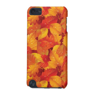 Fallen wet leaves. Autumnal background iPod Touch 5G Case
