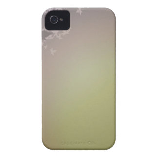 FALLING AUTUMN LEAVES DREAMY GREENS PURPLES iPhone 4 CASE