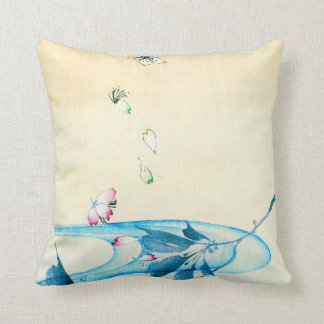Falling Blossoms 1870 Cushion