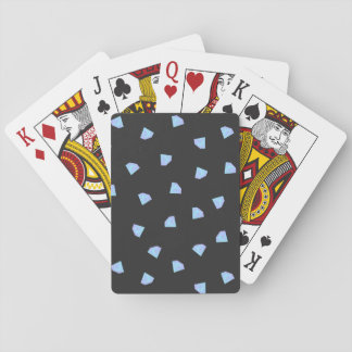 Falling Diamonds Playing Cards