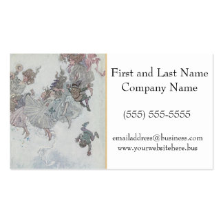 Falling Fairies, Andersen's Fairy Tales Pack Of Standard Business Cards