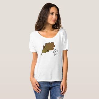 Falling For you Leaf tee 4