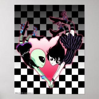 Falling Heart Poster