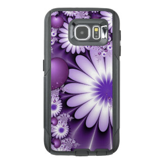 Falling in Love Abstract Flowers & Hearts Fractal OtterBox Samsung Galaxy S6 Case
