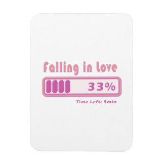Falling in Love percentage Flexible Magnets