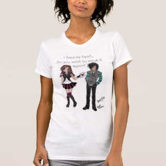 falling in love with the wrong person again t-shirts