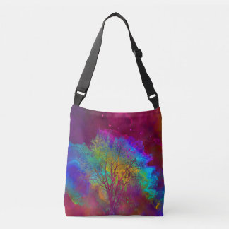 Falling into Space Crossbody Bag
