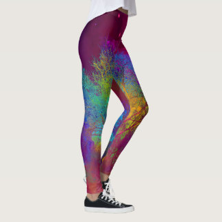 Falling into Space Leggings