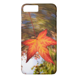 Falling Leaf from a tree in autumn iPhone 8 Plus/7 Plus Case