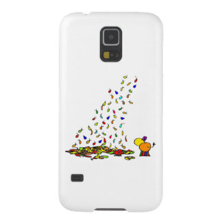 falling leaves and donkey galaxy s5 cover